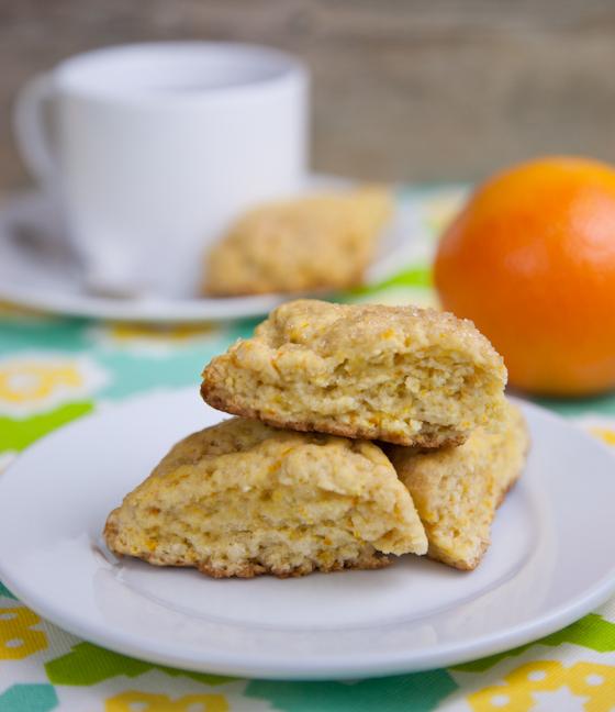 Gluten-Free Orange Scones
