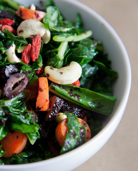 Massaged Kale Avocado Salad