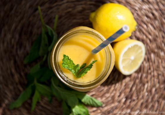 Mango Lemon Kombucha Smoothie 2