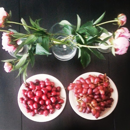 Fresh Fruit & Flowers