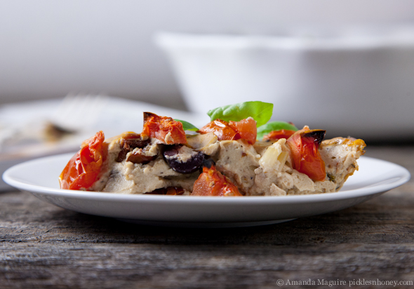 Vegan & Gluten-Free Frittata Puttanesca