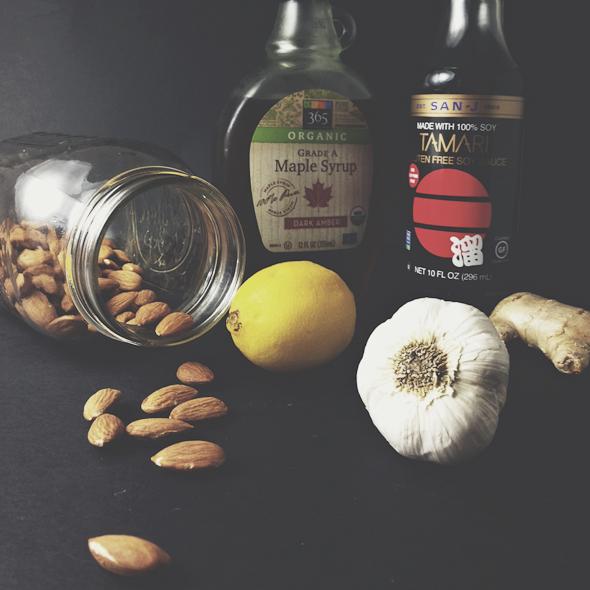 Almond Dipping Sauce (Vegan, Gluten-Free) | picklesnhoney.com