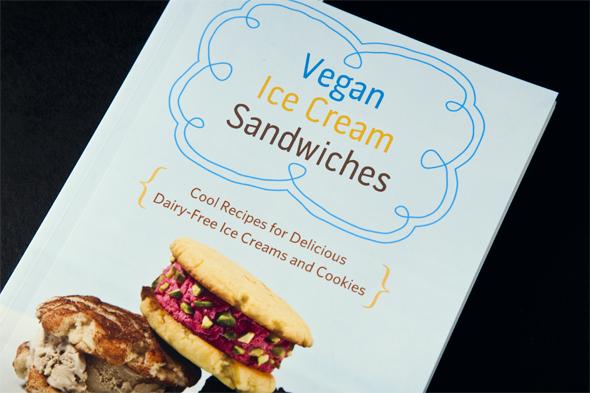 Earl Grey with Orange Vegan Ice Cream Sandwiches + Vegan Ice Cream Sandwiches Cookbook Giveaway | picklesnhoney.com