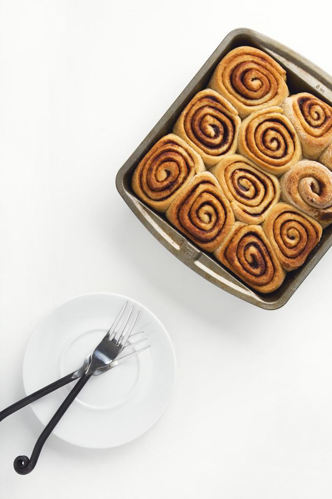 Easy Vegan Cinnamon Rolls | picklesnhoney.com