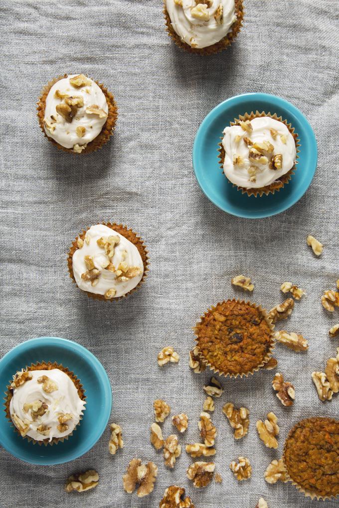 1 Bowl Vegan Carrot Cake Cupcakes   picklesnhoney.com