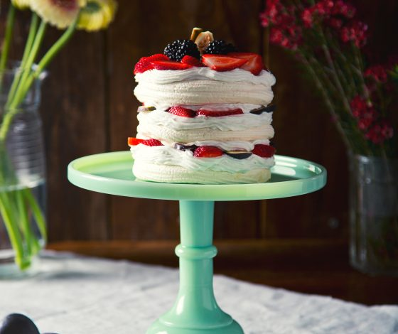 Life-Changing Chickpea Brine Vegan Pavlova (or meringues) | picklesnhoney.com