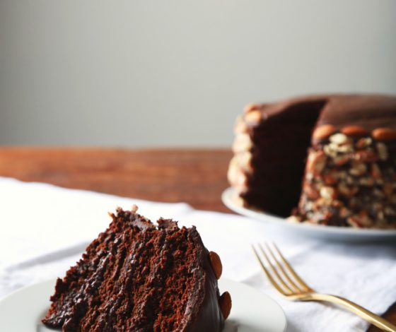 Vegan Brooklyn Blackout Cake | picklesnhoney.com
