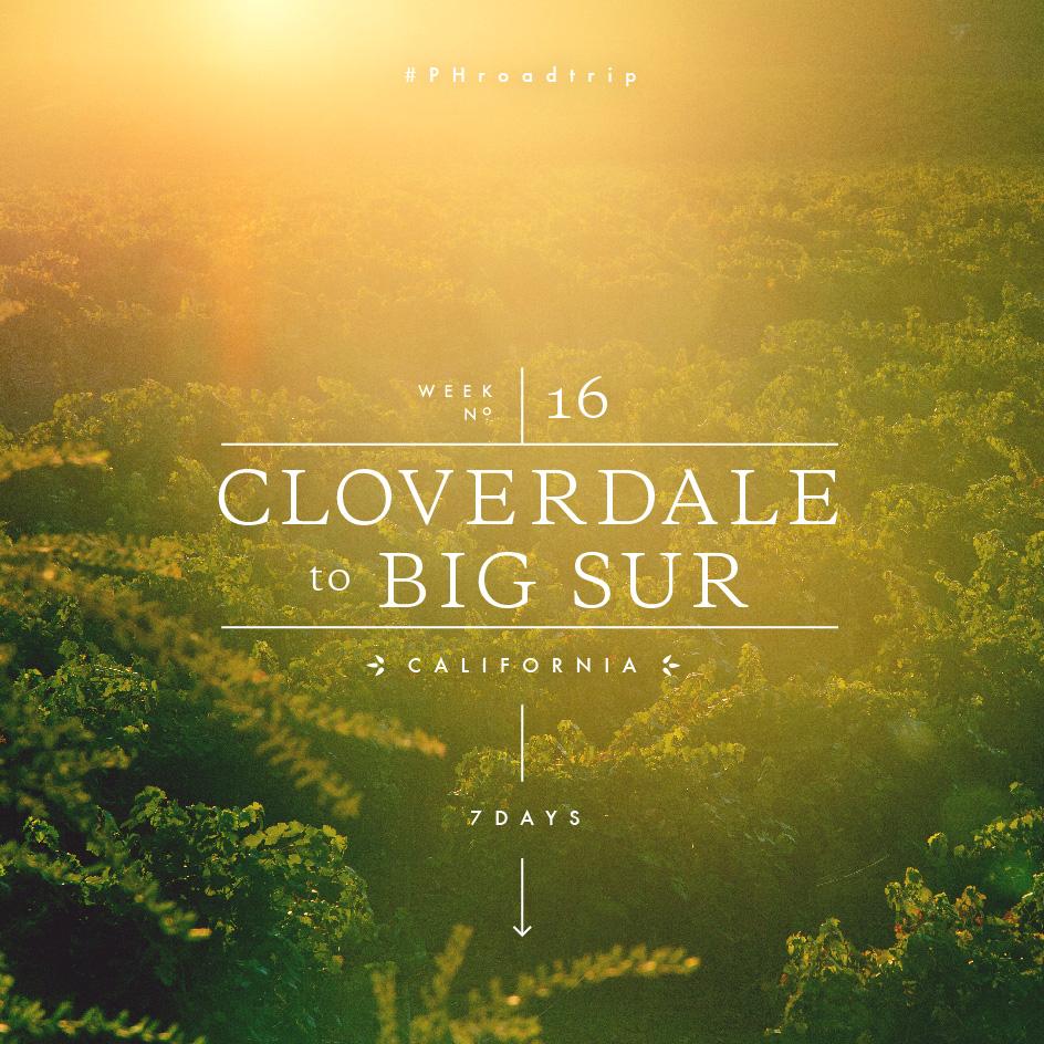 Week 16: Cloverdale to Big Sure, CA   picklesnhoney.com #PHroadtrip #roadtrip #travel