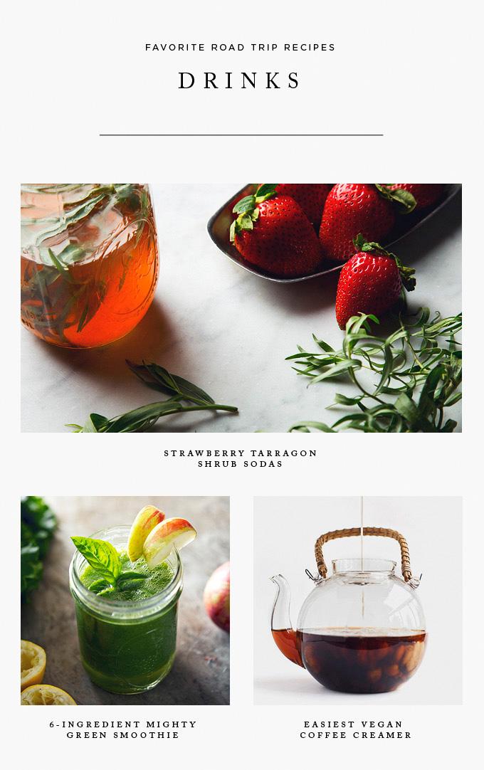 Easy #Vegan Drink Recipes | picklesnhoney.com #phroadtrip