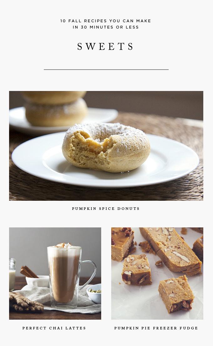 Fall Dessert Recipes You Can Make in 30 Minutes or Less   picklesnhoney.com #vegan #dessert #recipes