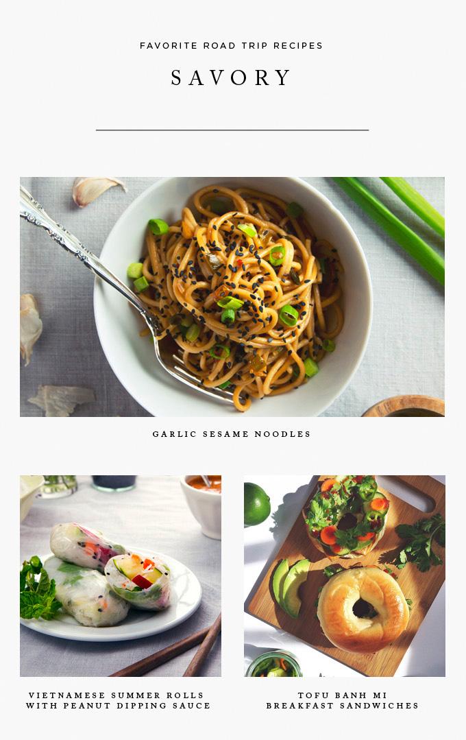 Easy #Vegan Savory Recipes | picklesnhoney.com #phroadtrip