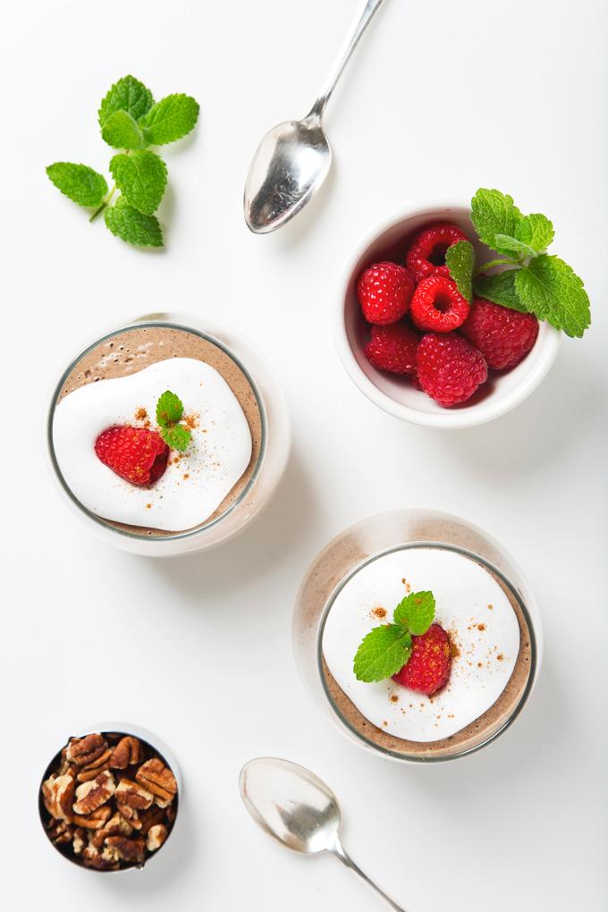 5-Minute Spiced Vanilla Vegan Protein Pudding | picklesnhoney.com #vegan #glutenfree #pudding #rebbl