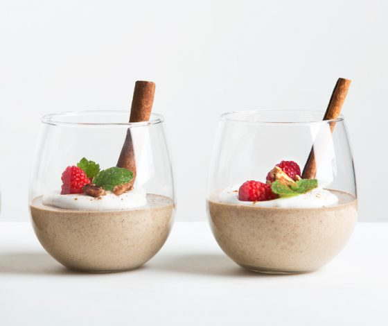 5-Minute Spiced Vanilla Protein Pudding | picklesnhoney.com #vegan #glutenfree #pudding #rebbl