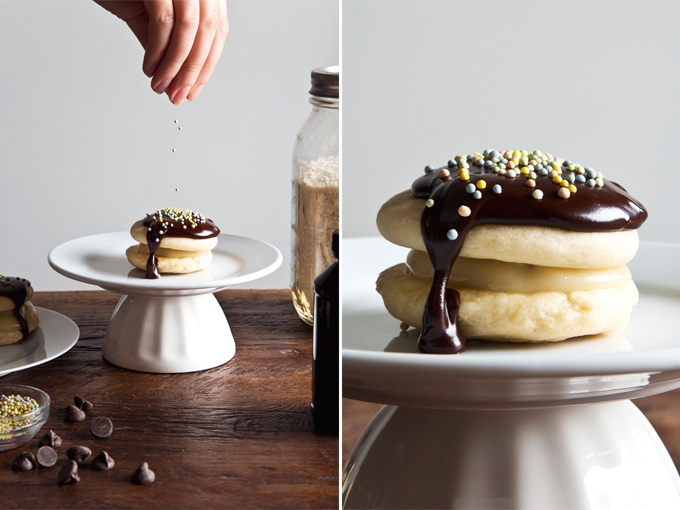 Vegan Boston Cream Pie Cookies | picklesnhoney.com #vegan #cookies #recipe