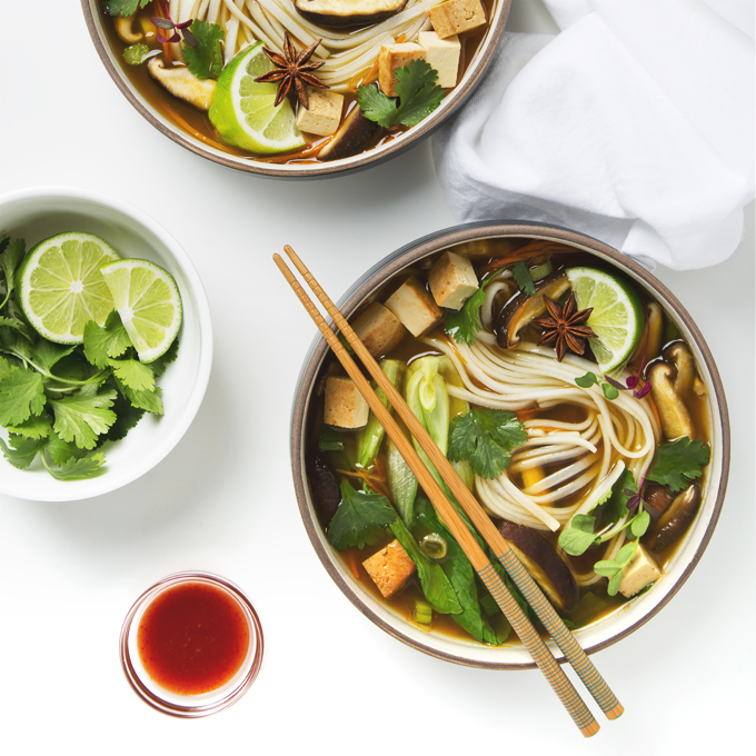 30 Minute Vegan Pho | picklesnhoney.com #vegan #pho #recipe