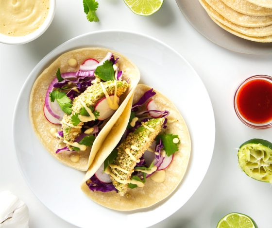 Crispy Avocado Tacos | picklesnhoney.com #vegan #avocado #tacos #glutenfree #recipe