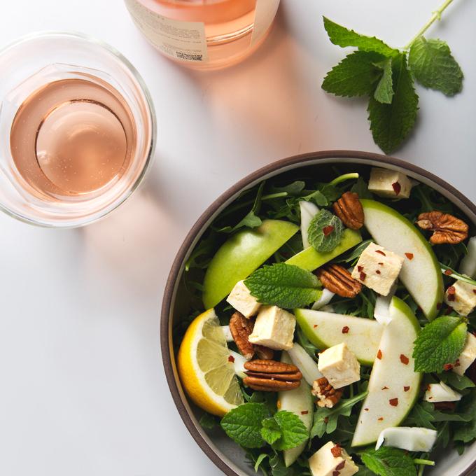 How to Make Tofu Feta Cheese   picklesnhoney.com #tofu #feta #cheese #vegan #recipe