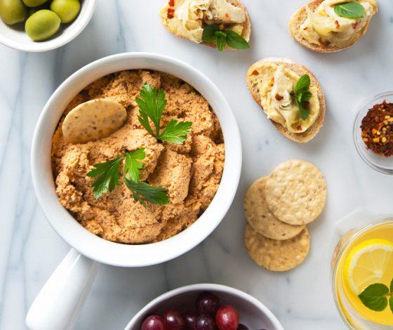 5 Ingredient Smoked Almond Vegan Cheddar Cheese | picklesnhoney.com #recipe #vegan #cheddar #cheese