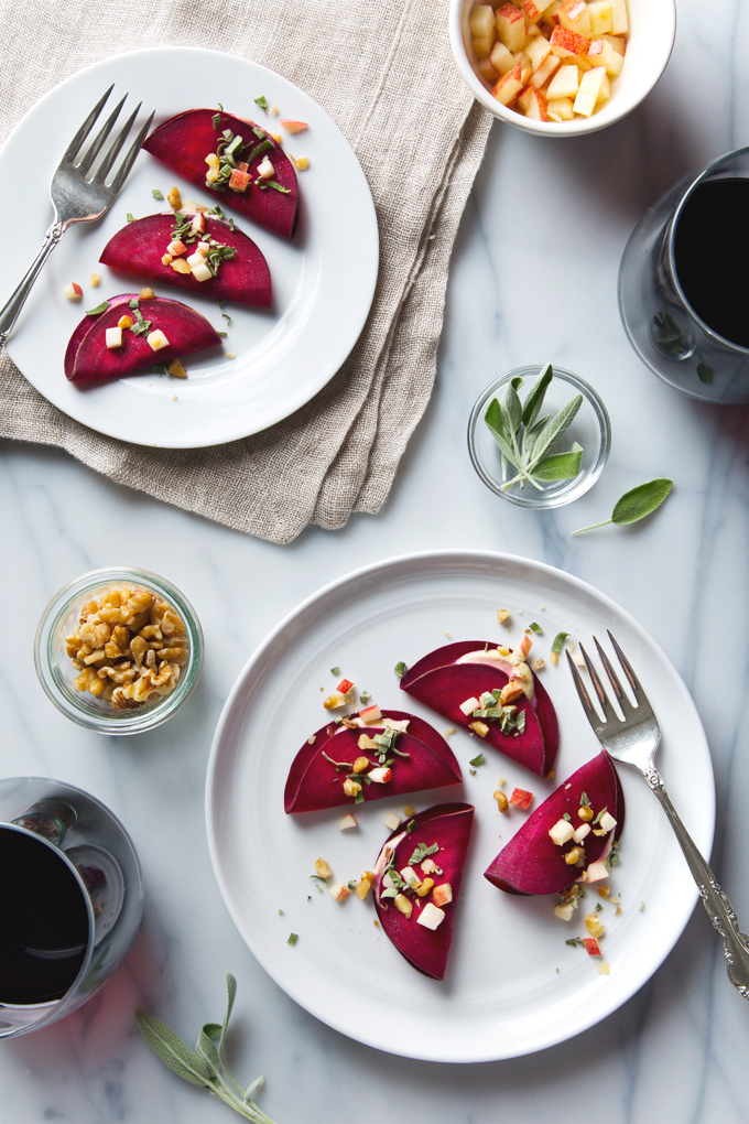 Raw Beet Ravioli with Vegan Cashew Cheese | picklesnhoney.com #raw #vegan #beet #ravioli #recipe