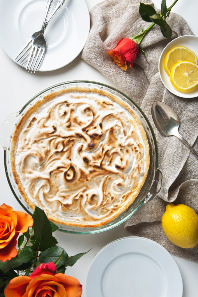 Vegan Lemon Meringue Pie | picklesnhoney.com #lemon #meringue #pie #vegan #dessert #recipe #aquafaba