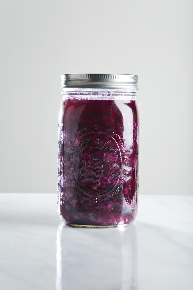How to Make Sauerkraut | picklesnhoney.com #sauerkraut #recipe #diy
