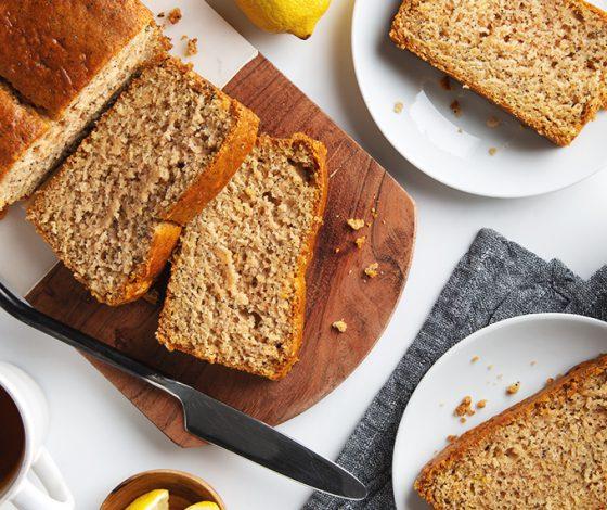 Simple Vegan Lemon Poppy Seed Bread! | picklesnhoney.com #vegan #lemon #poppyseed #bread #dessert #recipe