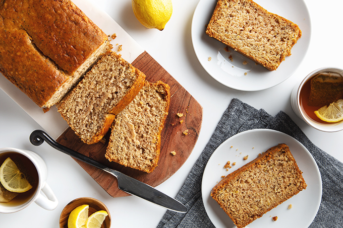 Simple Vegan Lemon Poppy Seed Bread! | picklesnhoney.com #vegan #lemon #poppyseed #bread #dessert #recipe