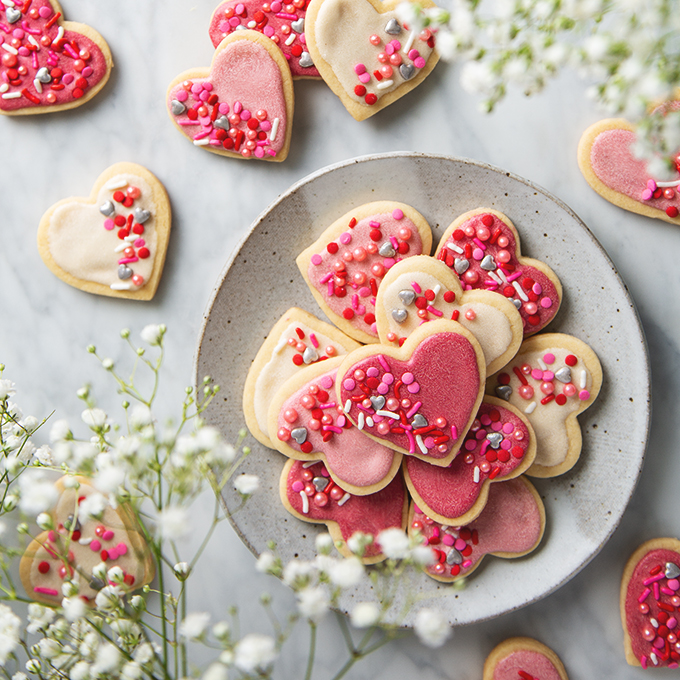 Vegan Sugar Cookies | picklesnhoney.com #vegan #cookies #sugarcookies #recipe