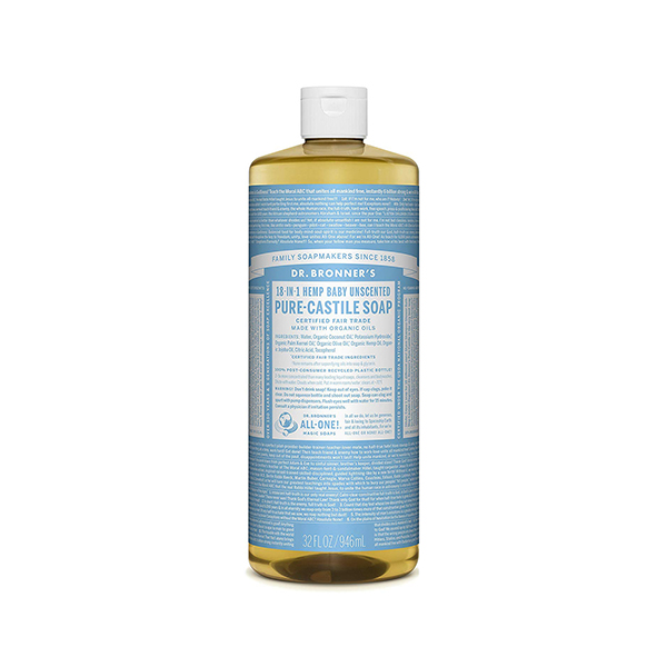 Dr. Bronner's Castile Soap - Baby Unscented