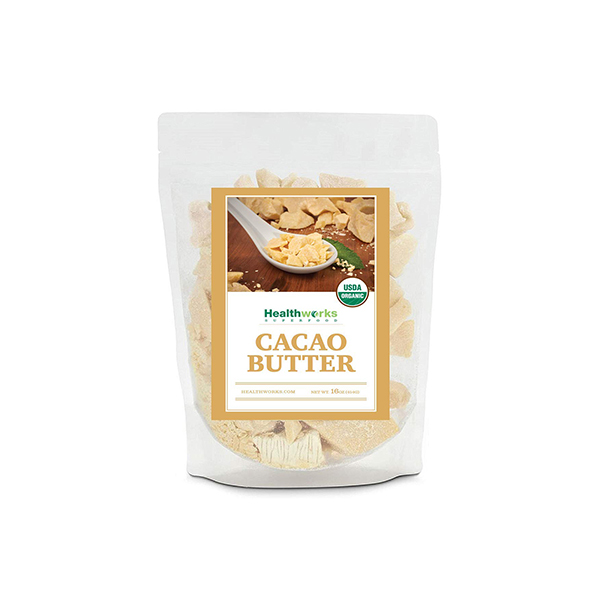 Healthworks Organic Raw Cacao Butter
