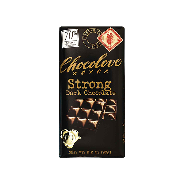 Chocolove 70% Strong Dark Chocolate